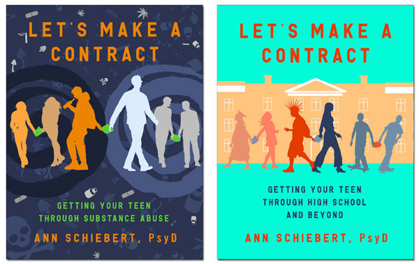 Lets Make a Contract Vol 1 and Vol 2 book covers